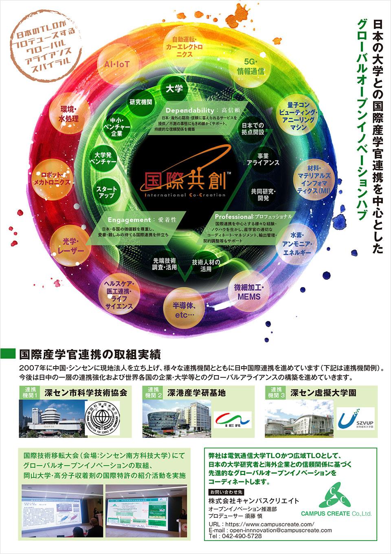 TLO12.0に基づく国際出願済特許の海外展開支援サービス